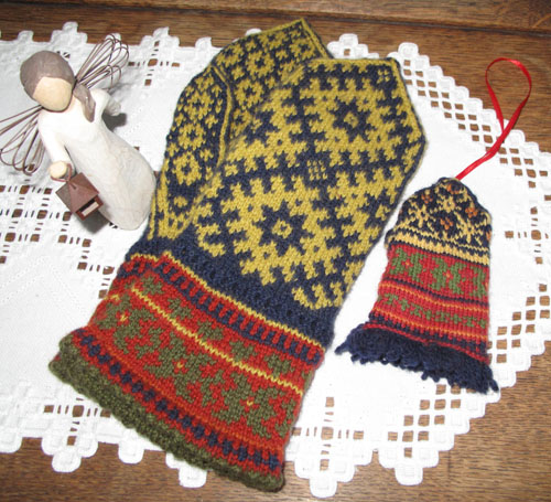 Latvian-Norwegian Mittens + 1