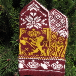 Shield of Norway Mittens