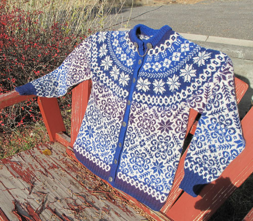 Stars of the Midnight Sun Cardi